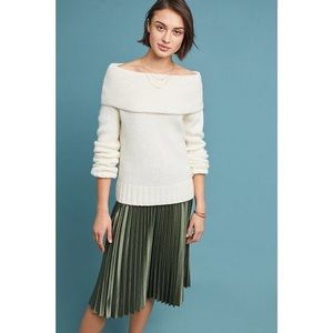 Anthropologie Sweaters - NWT Anthropologie Natalia Off Shoulder Sweater
